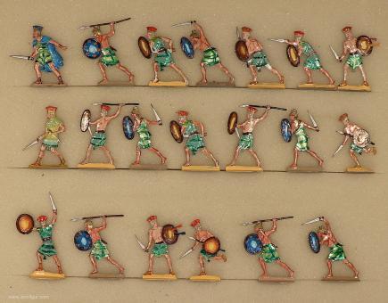 Verschiedene Hersteller: Krieger der Seevölker im Angriff, 3000 v.Chr. bis 400 n.Chr.