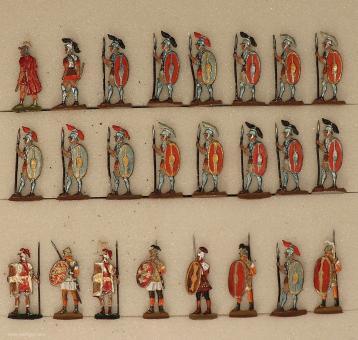 Verschiedene Hersteller: Legionäre im Halt, 6. Jh.v.Chr. bis 6. Jh.