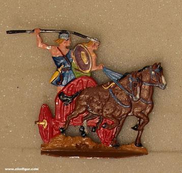 Kieler Zinnfiguren: Keltischer Streitwagen im Angriff, 3000 v.Chr. bis 400 n.Chr.