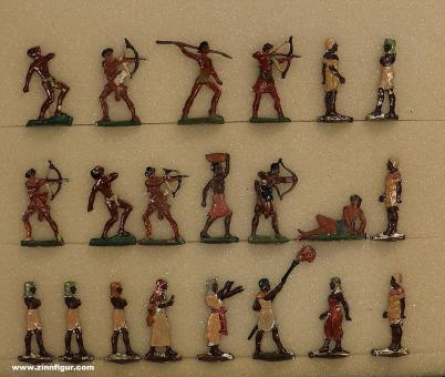 Verschiedene Hersteller: Afrikaner und Ägypter, 3000 v.Chr. bis 400 n.Chr.