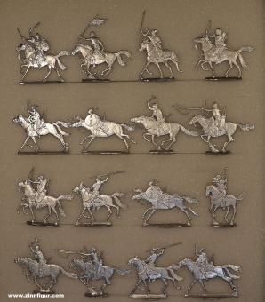 Romund: Hunnen zu Pferd im Angriff (um 440), 3000 v.Chr. bis 400 n.Chr.