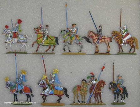 Versch.Hersteller: Ritter im Halt, 1420 bis 1590