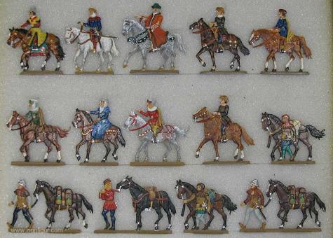 Stoll: Reisezug zu Pferd, 11. Jh. bis 15. Jh.