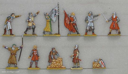 Diverse Hersteller: Fahnenstreit von Akkon, 1096 bis 1270