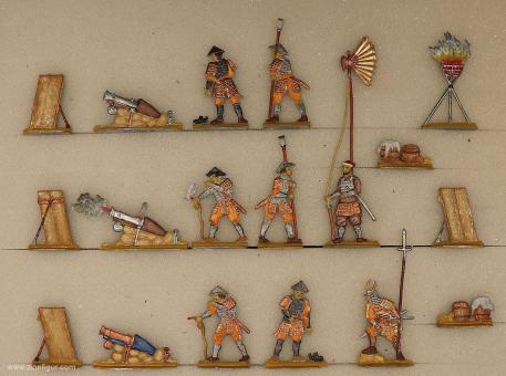 Diverse Hersteller: Artillerie der Samurai, 1500 bis 1700