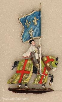 Maier, Sixtus: French knight with banner, 11. Jh. bis 15. Jh.