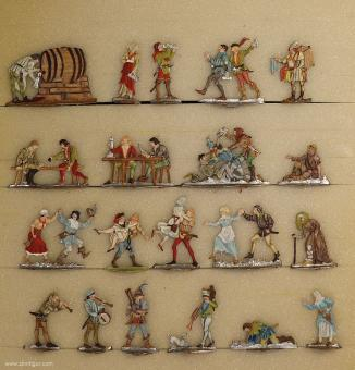 Diverse Hersteller: Medieval tavern, 11. Jh. bis 15. Jh.