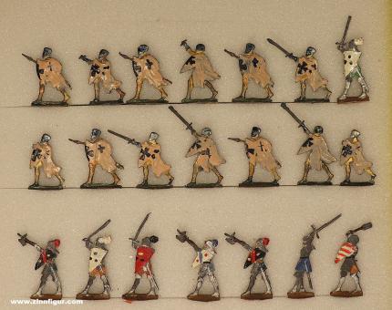 Heinrichsen: Dismounted knights fighting, 11. Jh. bis 15. Jh.