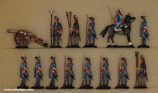 Wagner: Leichte Artillerie in Reserve, 1701 bis 1714