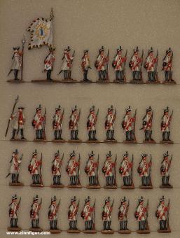 Versch.Hersteller: German Fusiliers at the halt, 1756 bis 1763