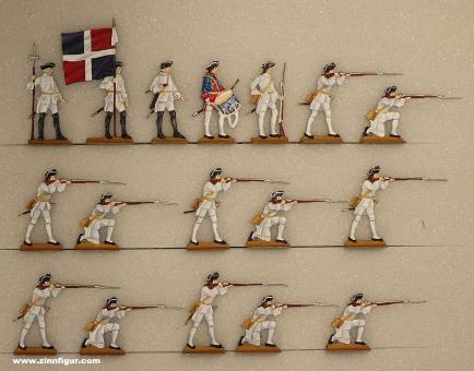 Neckel/B.Z.: Fusiliers firing, 1712 bis 1786