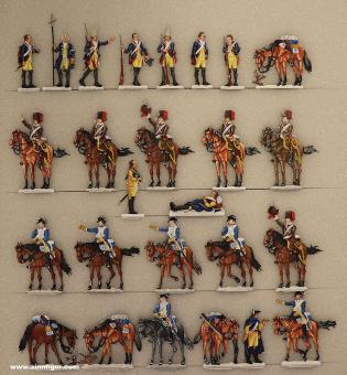 Berliner Zinnfiguren: Der Choral von Leuthen, 1757