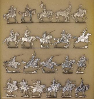 Verschiedene Hersteller: Kavallerie im 18. Jahrhundert, 1712 bis 1786