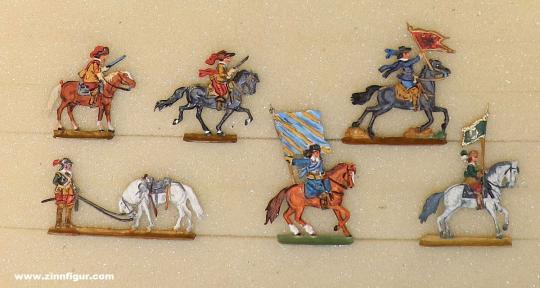 Diverse Hersteller: Ergänzungsfiguren 20 mm 30-jähriger Krieg, 1618 bis 1648