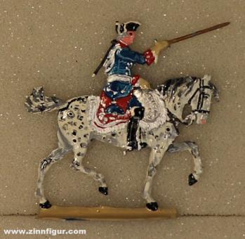 Kieler Zinnfiguren: Friedrich der Große zu Pferd, 1712 bis 1786