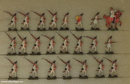 Diverse Hersteller: Grenadiere marschierend 20mm, 1712 bis 1786