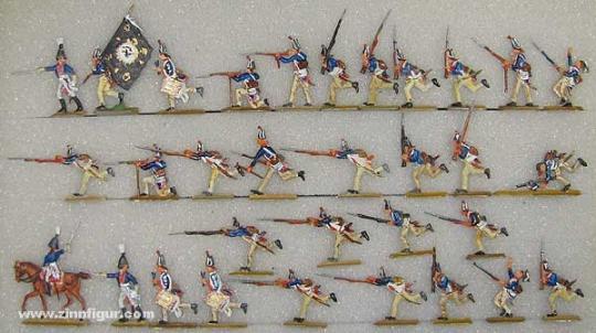 Versch.Hersteller: Infanterie im Angriff, 1800 bis 1806