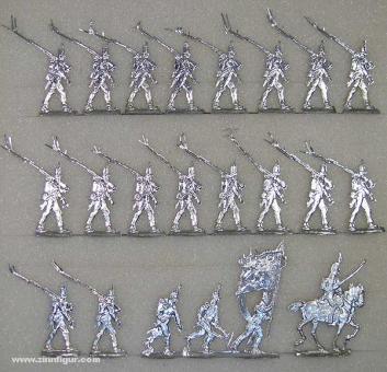 Leichte Infanterie im Marsch, 1808 bis 1815