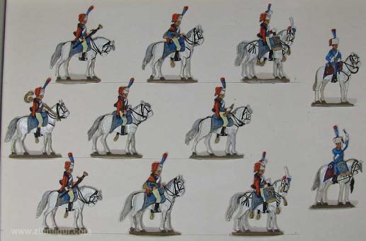 Thiel (Knoll): Musik der 13. Husaren zu Pferd, 1804 bis 1815