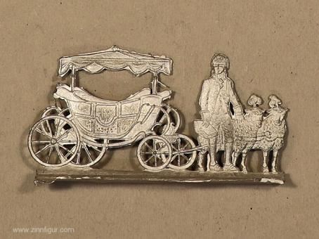 Otto: Childrens wagon with sheep, 1789 bis 1815