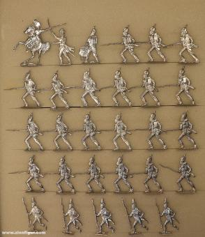 Rieche: Infanterie im Angriff, 1804 bis 1815