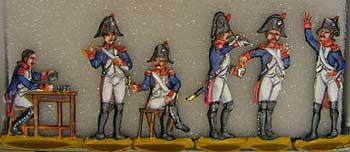 Die Beförderung wird begossen!, 1789 bis 1815