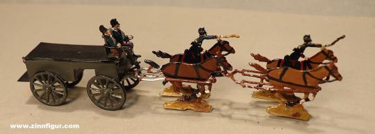 Verschiedene Hersteller: Train wagon at the gallop, 1870 bis 1871