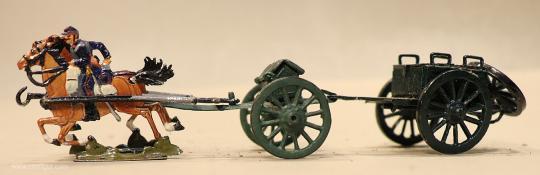 Verschiedene Hersteller: Munitionszug im Galopp, 1870 bis 1871