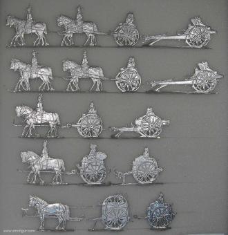 Diverse Hersteller: Artilleriezüge, 1900 bis 1918