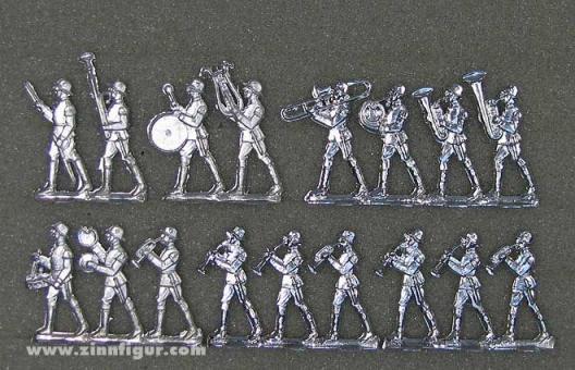 Wehrmacht, Infanterie-Musikzug spielend, 1933 bis 1945