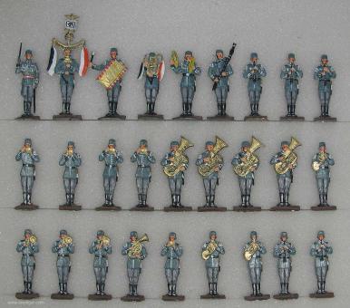 Diverse Hersteller: Musikzug der Wehrmacht, 1935 bis 1945