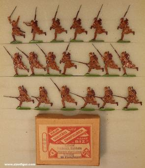 BIZ (Ochel/Kiel): Colonial infantry attacking, 1915 bis 1918