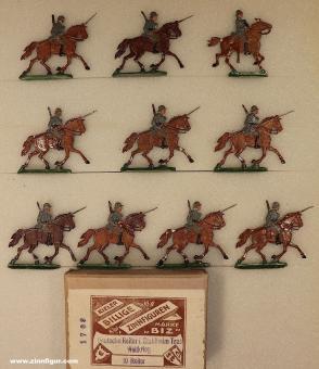BIZ (Ochel/Kiel): Kavallerie im Trab, 1916 bis 1918