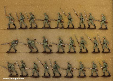 Verschiedene Hersteller: Infanterie im Sturm, 1915 bis 1918
