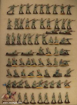 Verschiedene Hersteller: Infanterie im Kampf, 1915 bis 1918