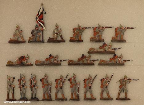 Verschiedene Hersteller: Infanterie im Kampf, 1914 bis 1916