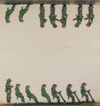 NVA Artilleristen, 1956 bis 1990