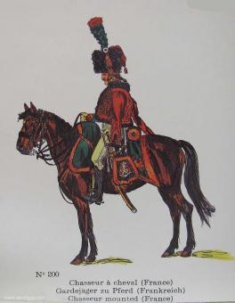 SCAD: Chasseur mounted, 1789 bis 1815