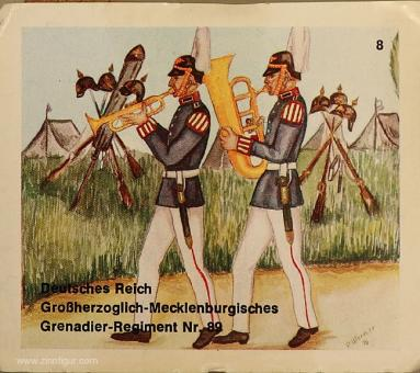 Airfix: Mold: Infantry marching, two musicians, 1871 bis 1913