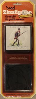 SCAD: Scad Gießform: Preußischer Infanterist, 1808 bis 1815