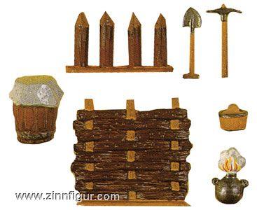 Nürnberger Meisterzinn: Mold: gun accessories, 1400 bis 1900
