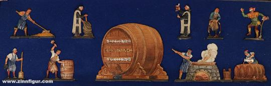 Kulmbach, Museum: Kulmbacher Brauerei um 1500, 11. Jh. bis 15. Jh.