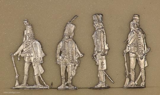 Verschiedene Hersteller: Preußische Husaren, 1712 bis 1786