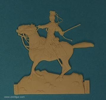 Diverse Hersteller: Offizier der Lancers im Kampf, 1816 bis 1870