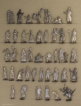 Verschiedene Hersteller: Russisches Straßenleben, 1600 bis 1700