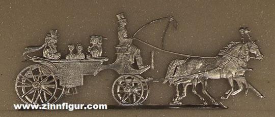 Diverse Hersteller: Die Hochzeitskutsche, 1815 bis 1870
