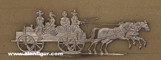 Diverse Hersteller: Bauernwagen im Galopp, 1815 bis 1870