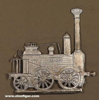 Braune: Lokomotive Saxonia, 1839