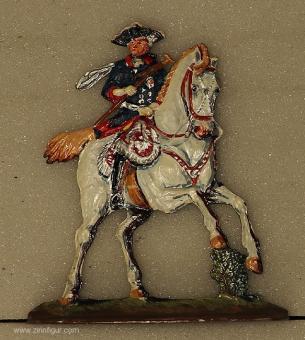 König Friedrich II. zu Pferd, 1712 bis 1786