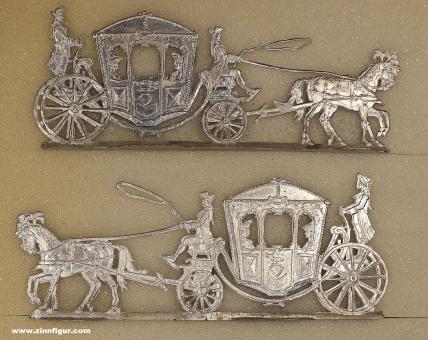 Graf: Barockkutsche, um 1720